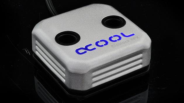 Alphacool Eisblock XPX: CPU-Wasserkühler mit LED und optimierter Strömung