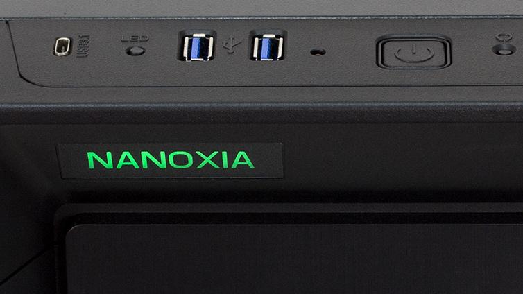 Nanoxia CoolForce 1: Midi-Tower speziell für Wasserkühlungen