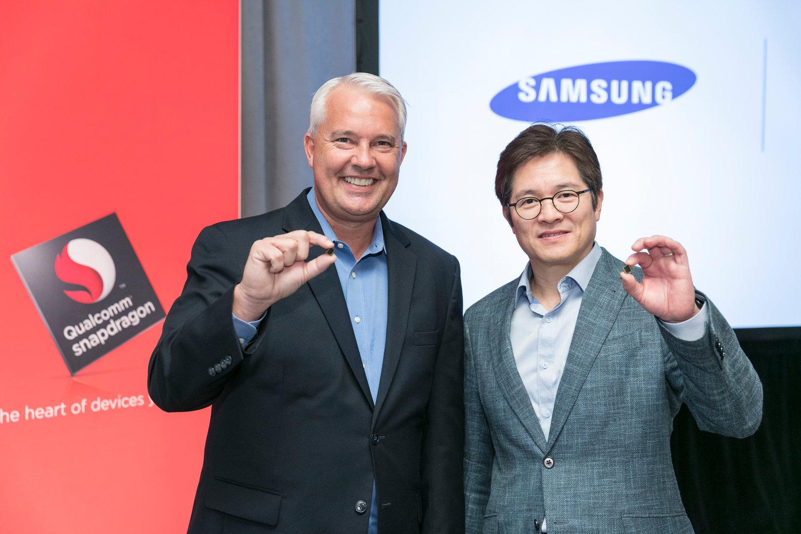 Keith Kressin (Qualcomm) und Ben Suh (Samsung)