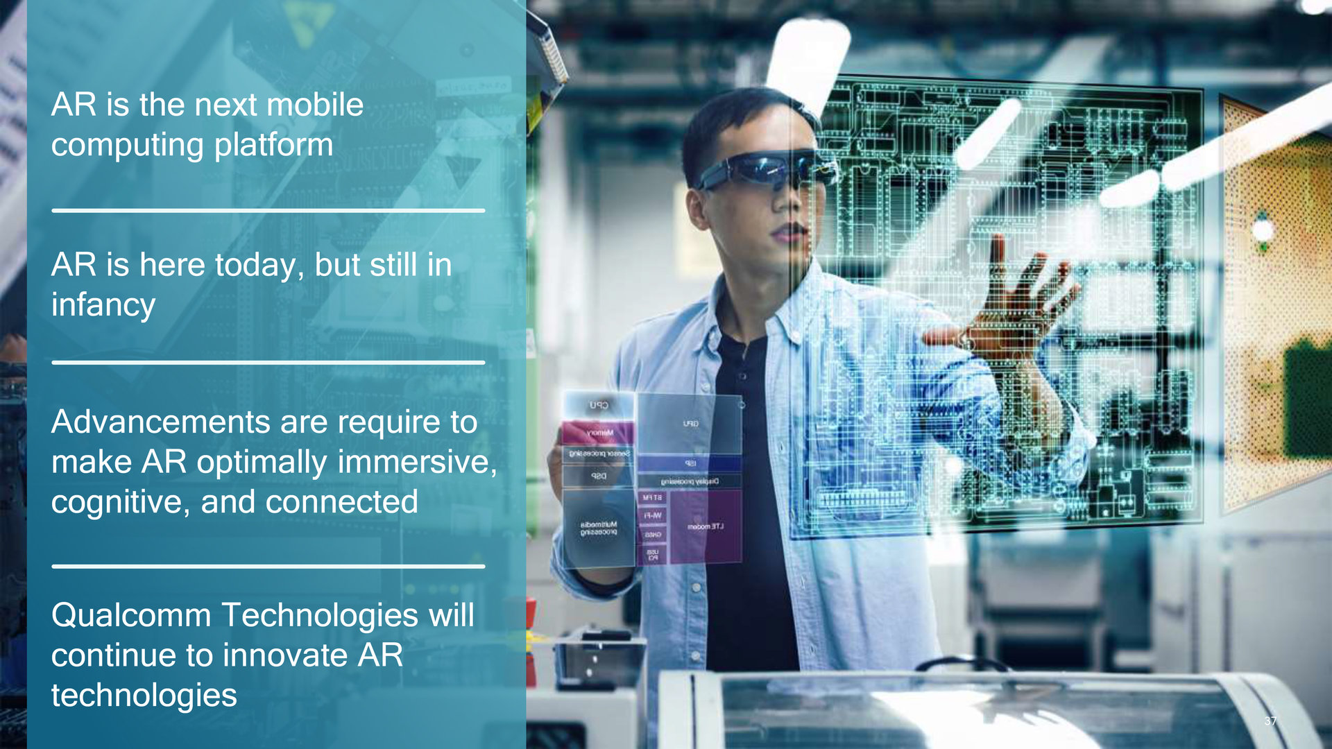 AR ist die nächste große mobile Plattform