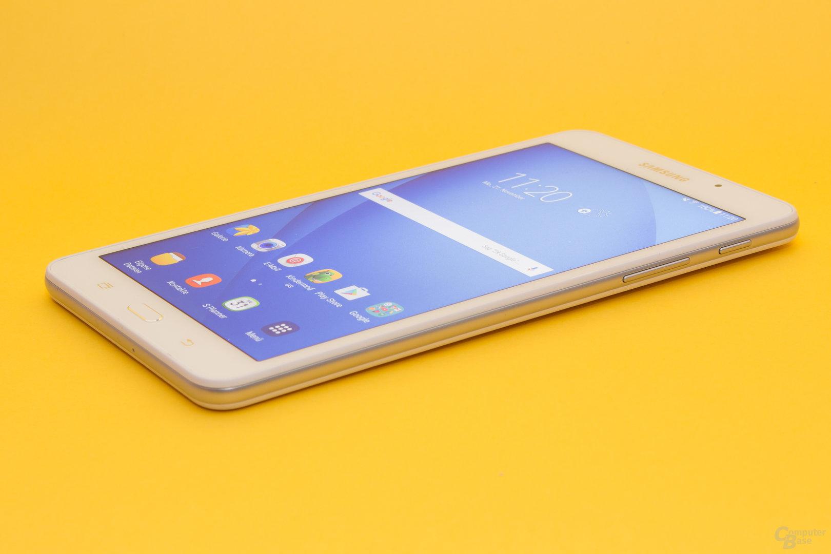 Auch das Galaxy Tab A 2016 wartet mit einer guten Verarbeitung auf