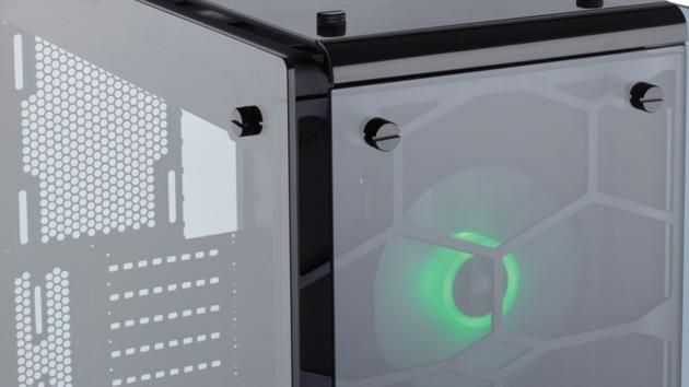 Corsair Crystal und Carbide: Drei neue Gehäuse mit bis zu vier Seiten aus Glas