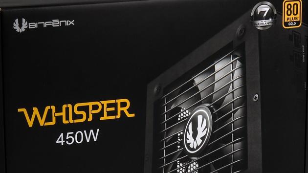 Bitfenix Whisper M: Neue Netzteilserie wirbt mit flüsterleiser Kühlung