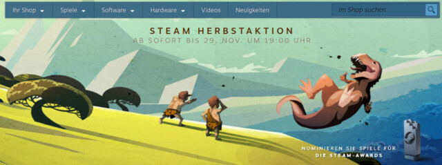 Steam Herbstaktion 2016