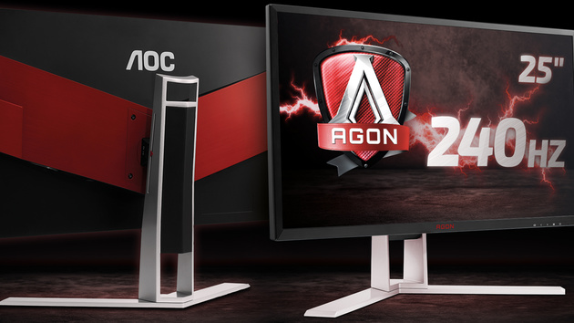 AG251FZ: AOCs 240-Hz-Monitor kommt im Januar für 500 Euro