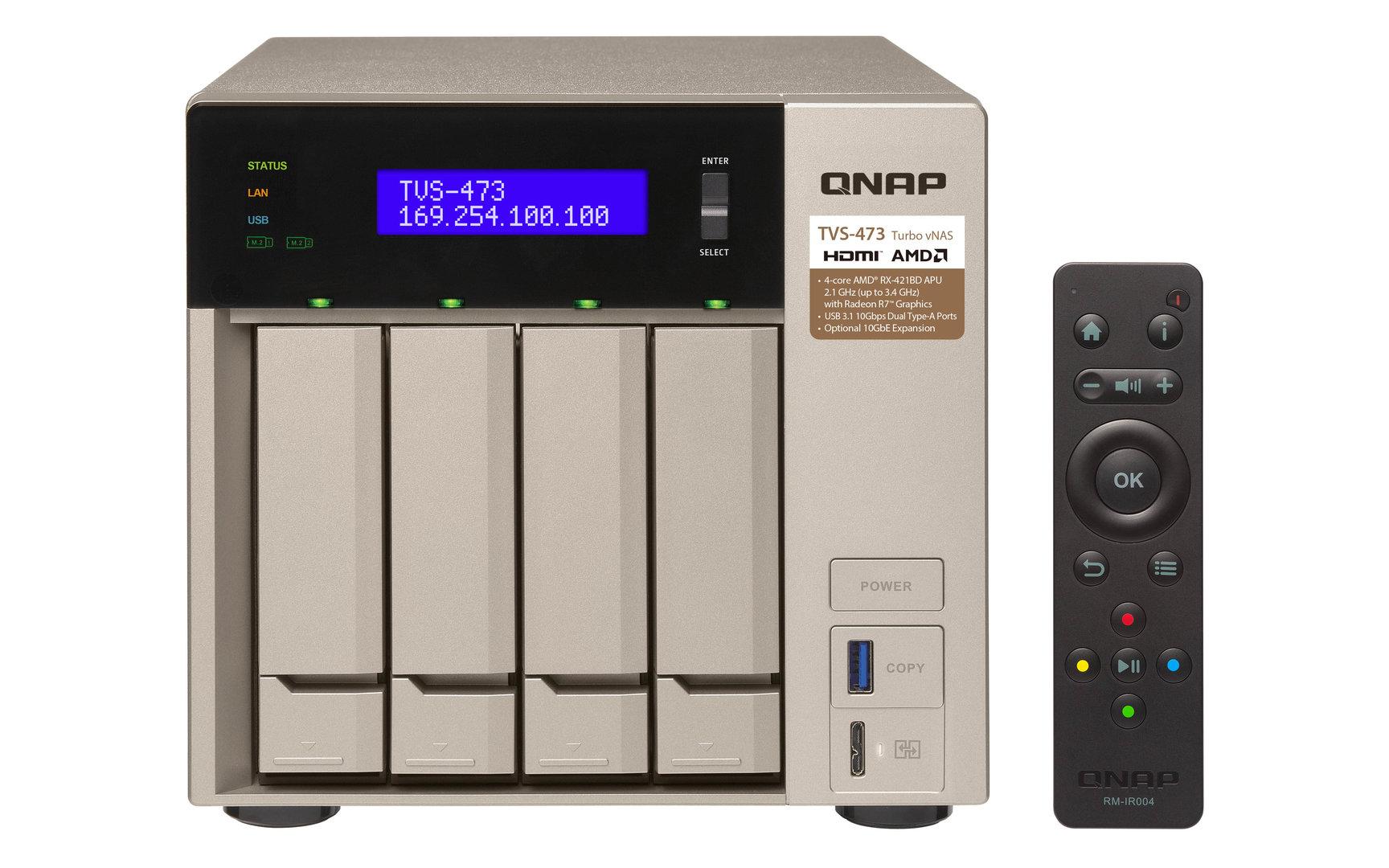 QNAP TVS-473