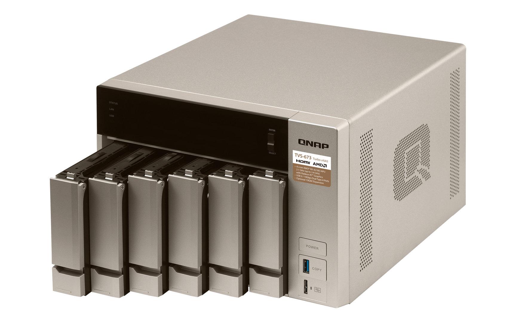 QNAP TVS-673