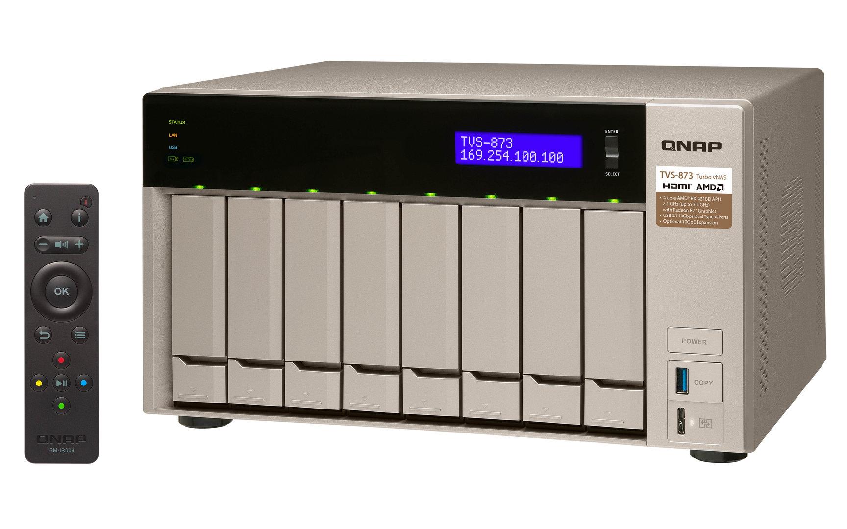 QNAP TVS-873