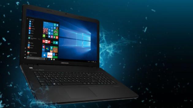 Medion Erazer P7648: Gaming-Notebook mit 17,3 Zoll und Kaby Lake für 899 Euro