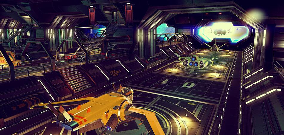 No Mans Sky Update 11 Bringt Basenbau Frachter Und Survival