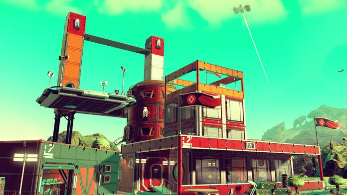No Man's Sky: Update 1.1 bringt Basenbau, Frachter und Survival-Modus