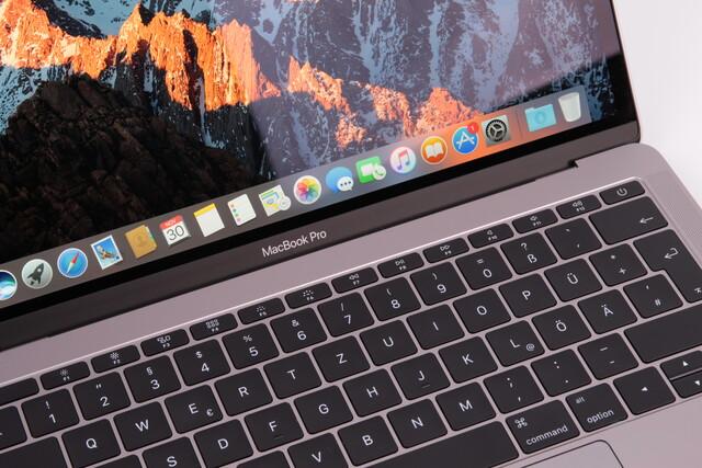 Das aktuelle MacBook Pro 13 Zoll gibt es auch ohne Touch Bar
