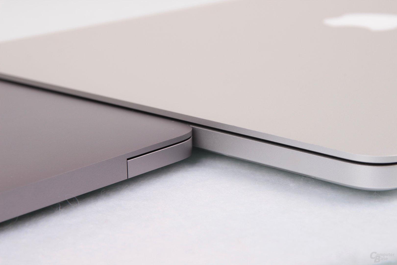 Drei Millimeter flacher ist das neue Modell