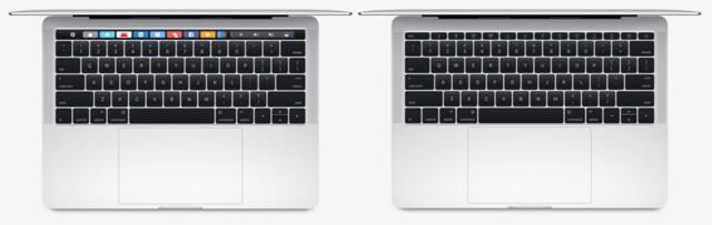 Das kleine MacBook Pro gibt es mit und ohne Touch Bar