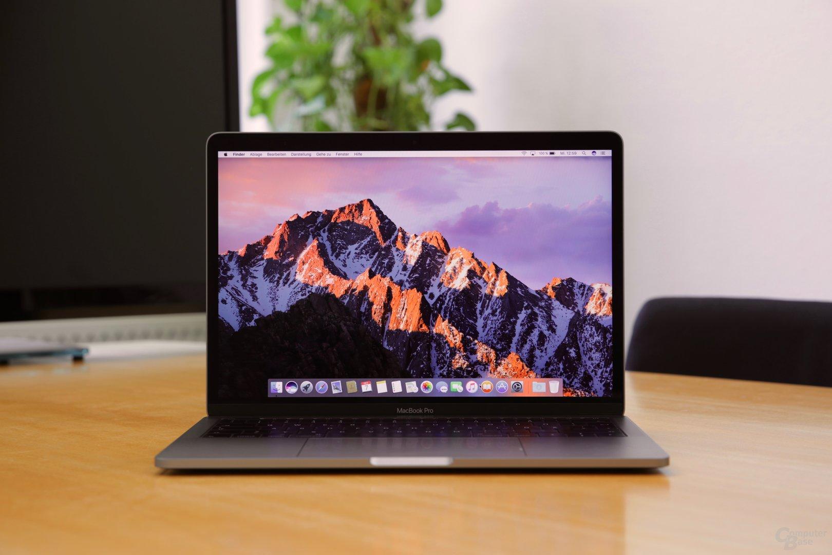 Das neue MacBook Pro in 13 Zoll ohne Touch Bar