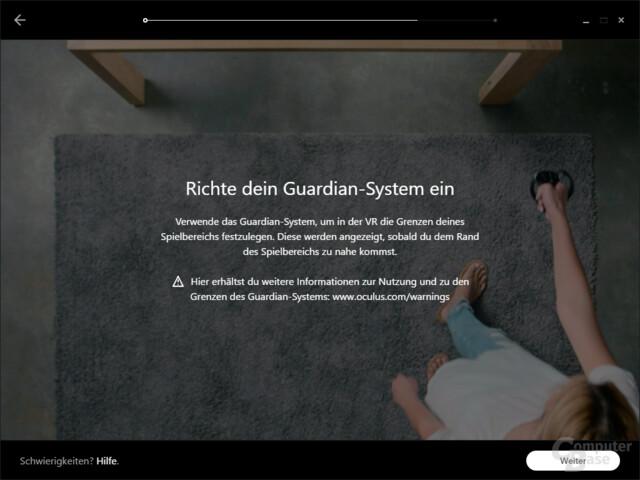Oculus Guardian ist das Gegenstück zu Valves Chaperone
