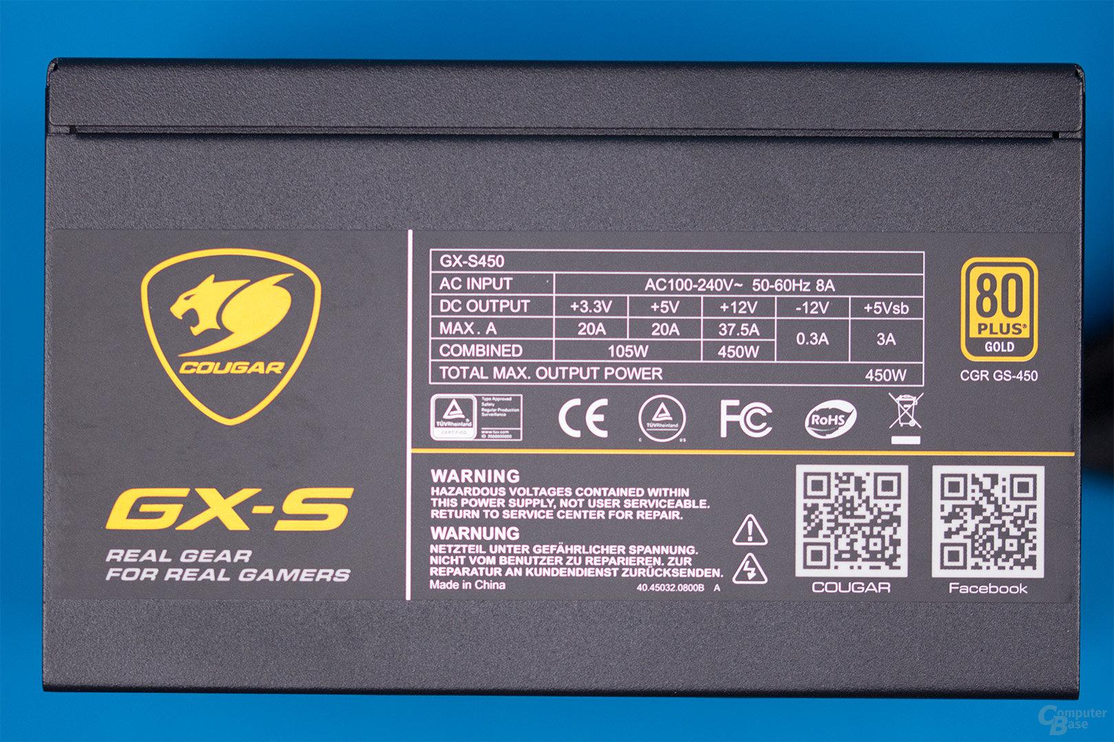Cougar GX-S450