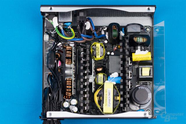 Cougar GX-S450 – Überblick Elektronik