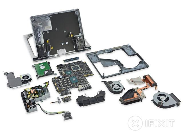Das Microsoft Surface Studio auseinander genommen
