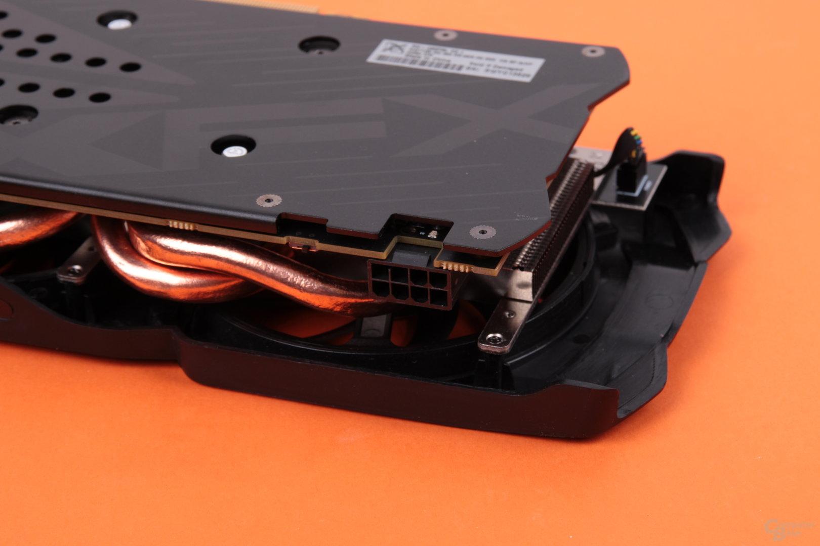 XFX Radeon RX 480 RS – Stromanschluss