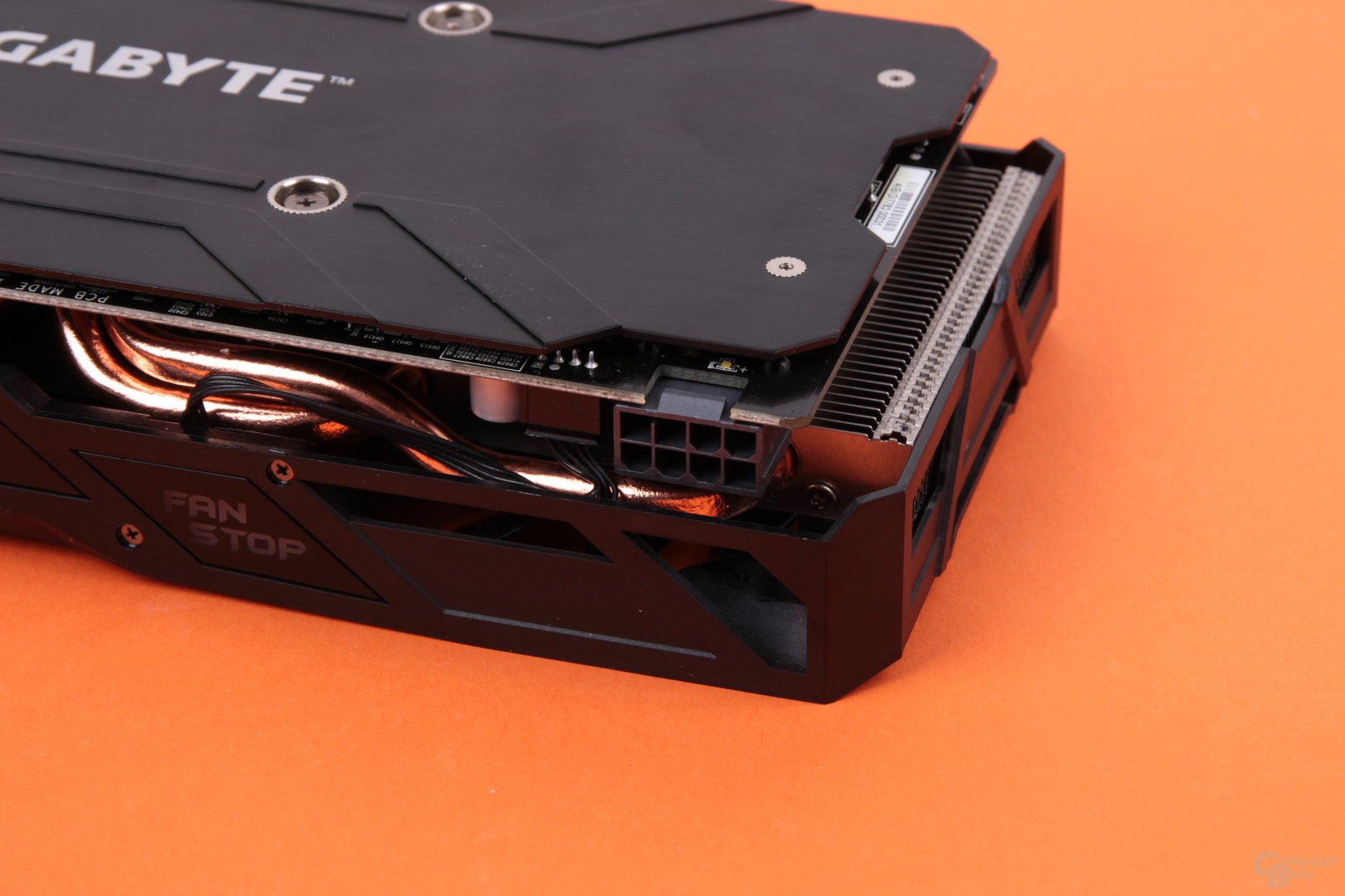 Gigabyte Radeon RX 480 G1 Gaming – Stromanschluss