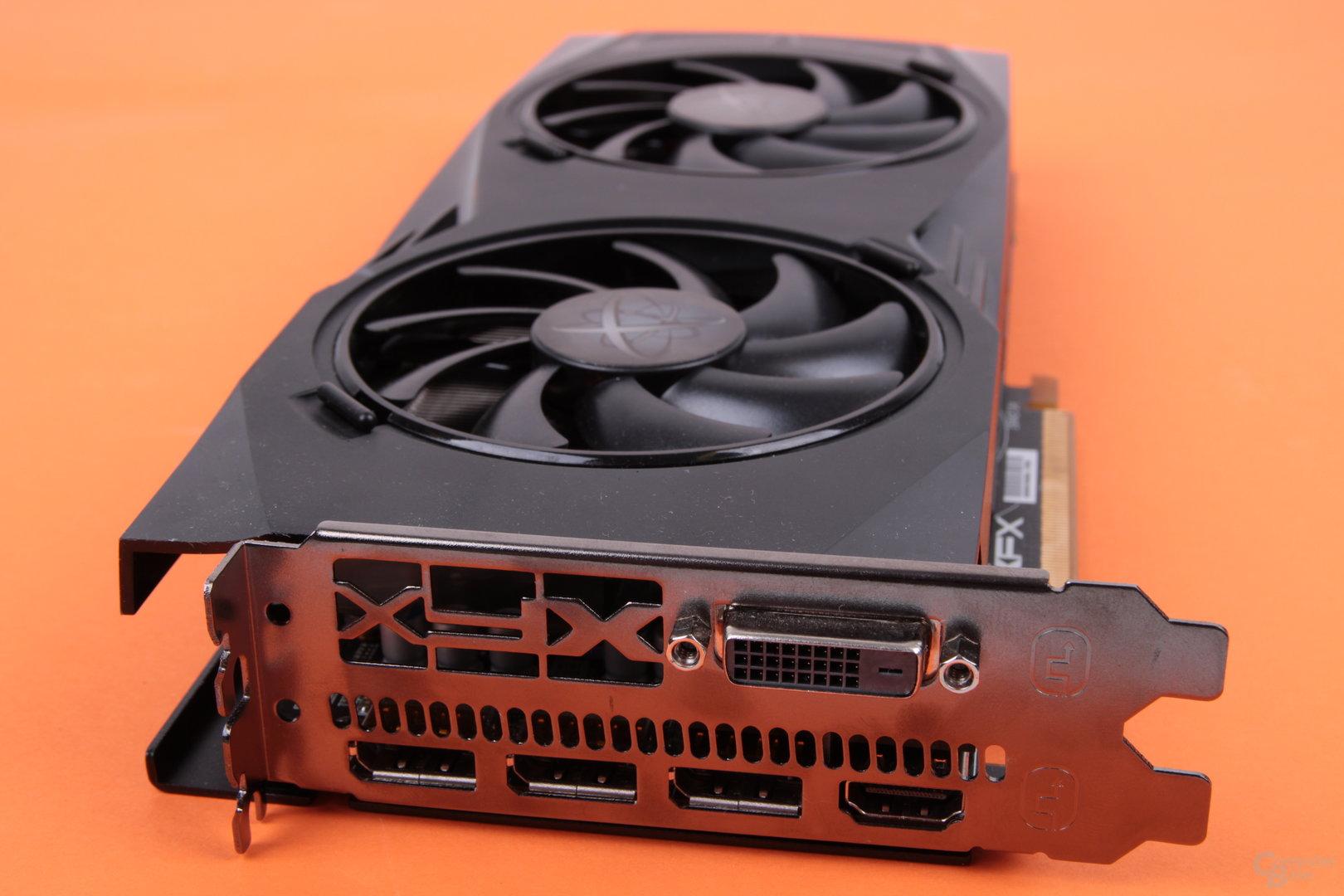XFX Radeon RX 480 GTR Black Edition – Anschlüsse