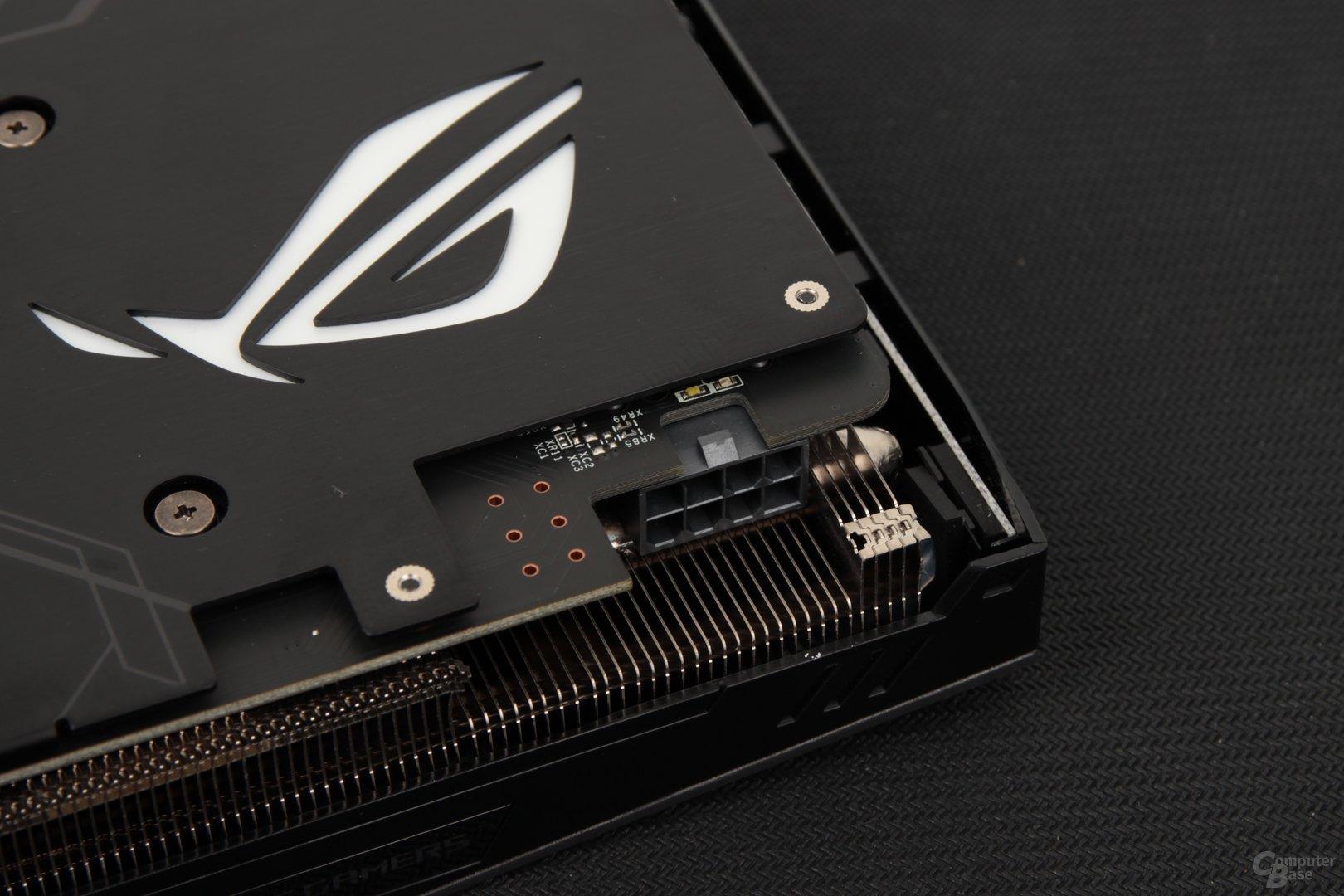 Asus Radeon RX 480 Strix – Stromanschlüsse