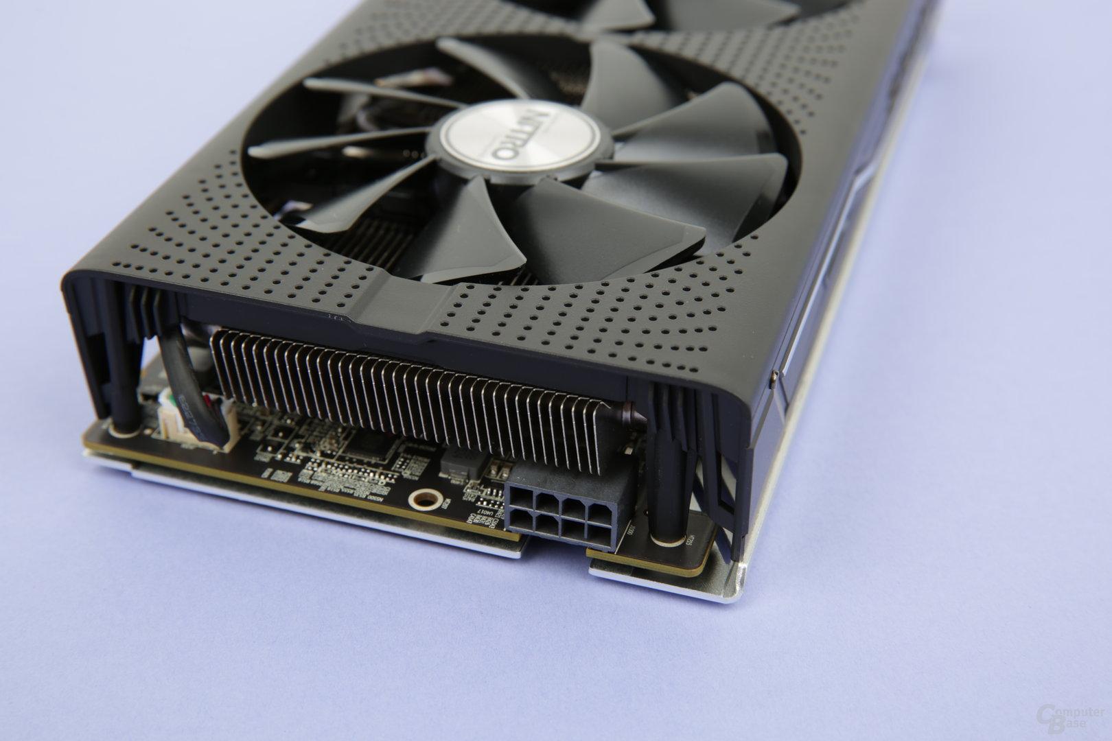 Sapphire Radeon RX 480 Nitro+ OC – Stromanschluss