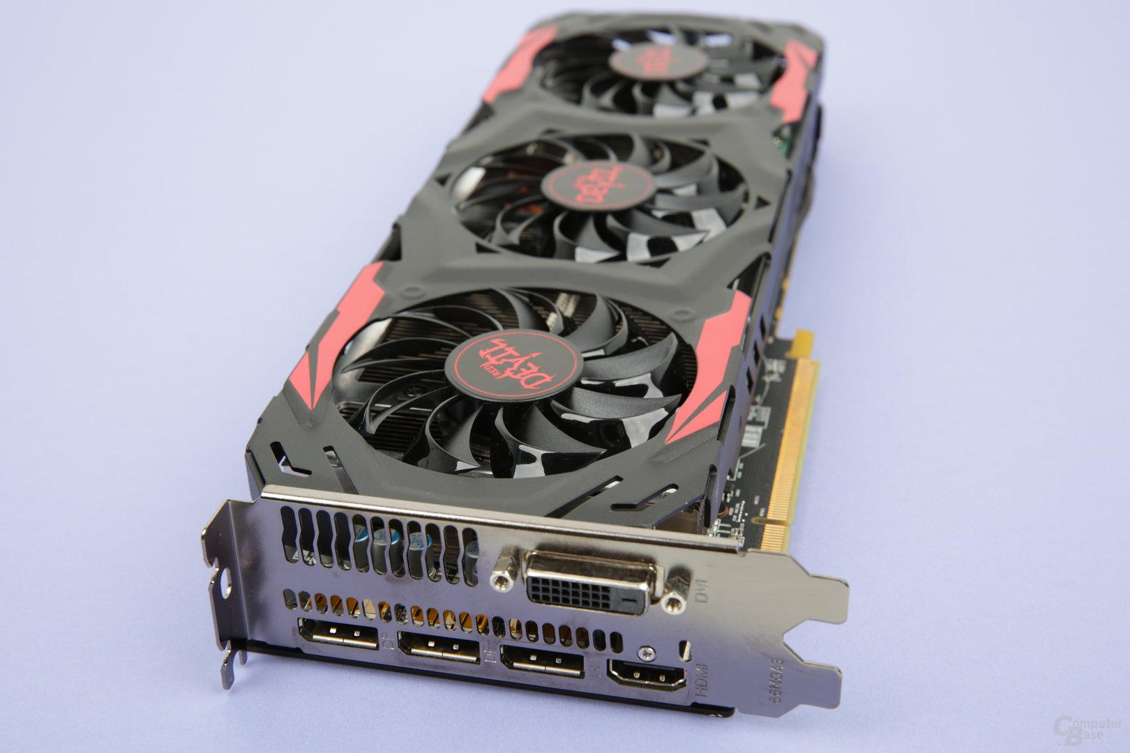 PowerColor Radeon RX 480 Red Devil – Anschlüsse