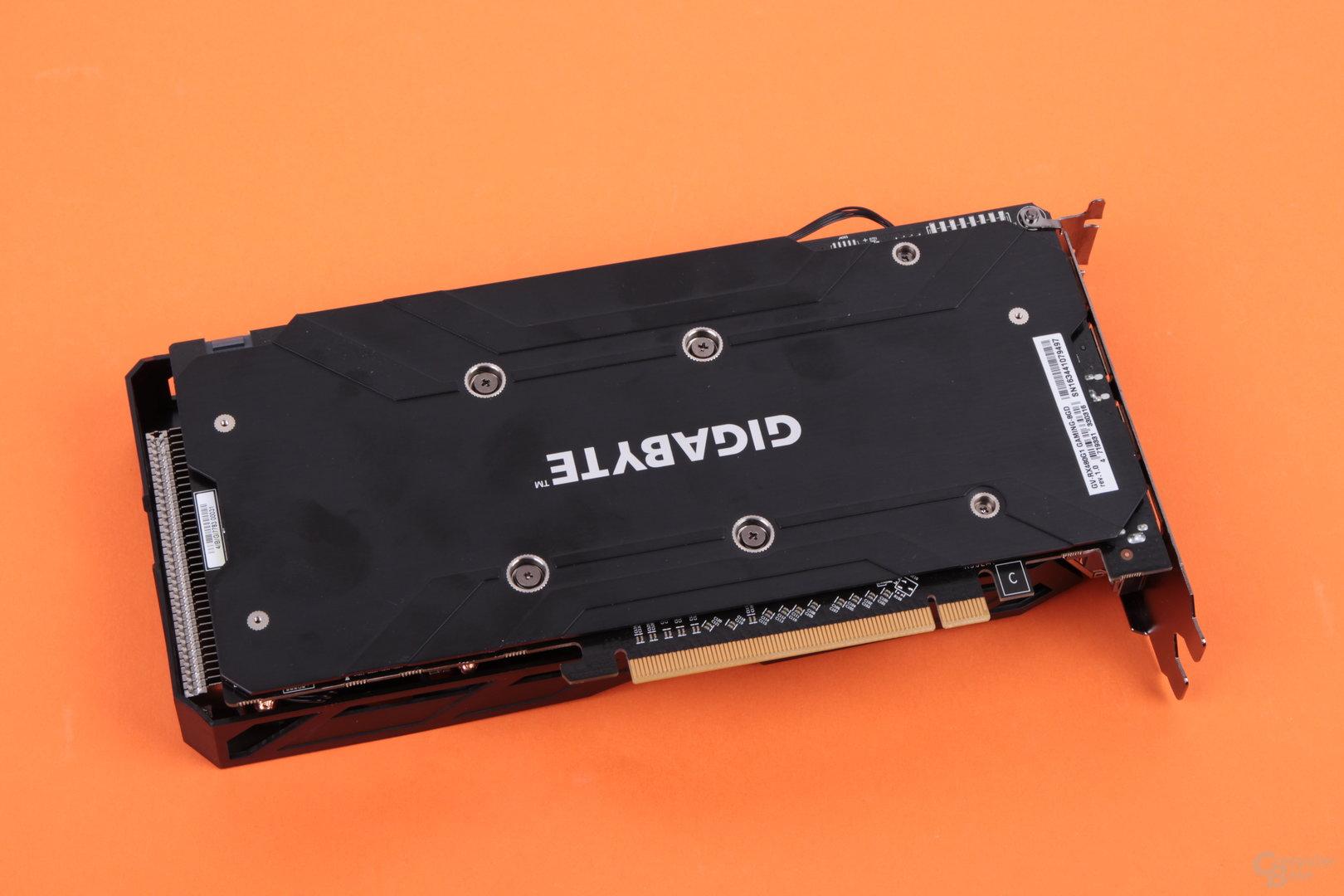 Gigabyte Radeon RX 480 G1 Gaming – Rückseite