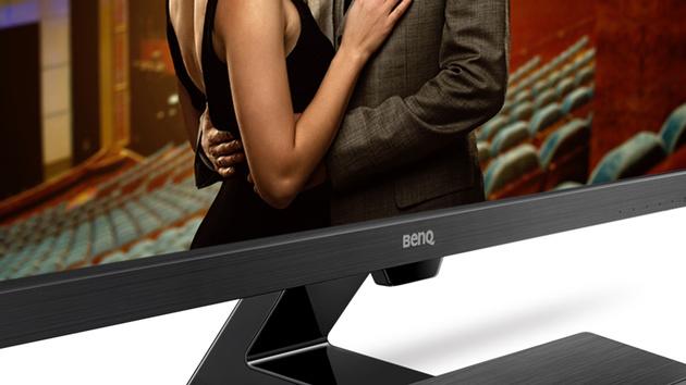 BenQ EW3270ZL: Monitor schont die Augen, aber spart an Ergonomie