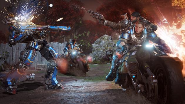 Gears of War 4: Xbox und PC spielen testweise gegeneinander