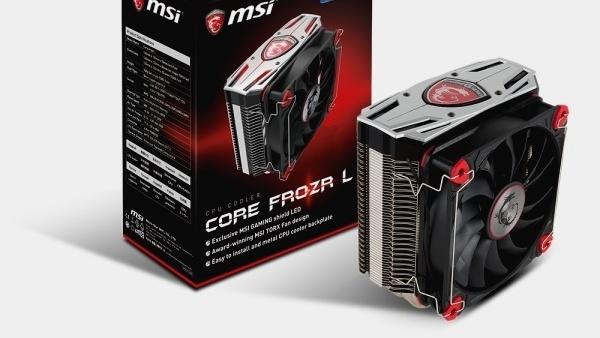 MSI Core Frozr L: Auch CPU-Kühler heißen jetzt Frozr