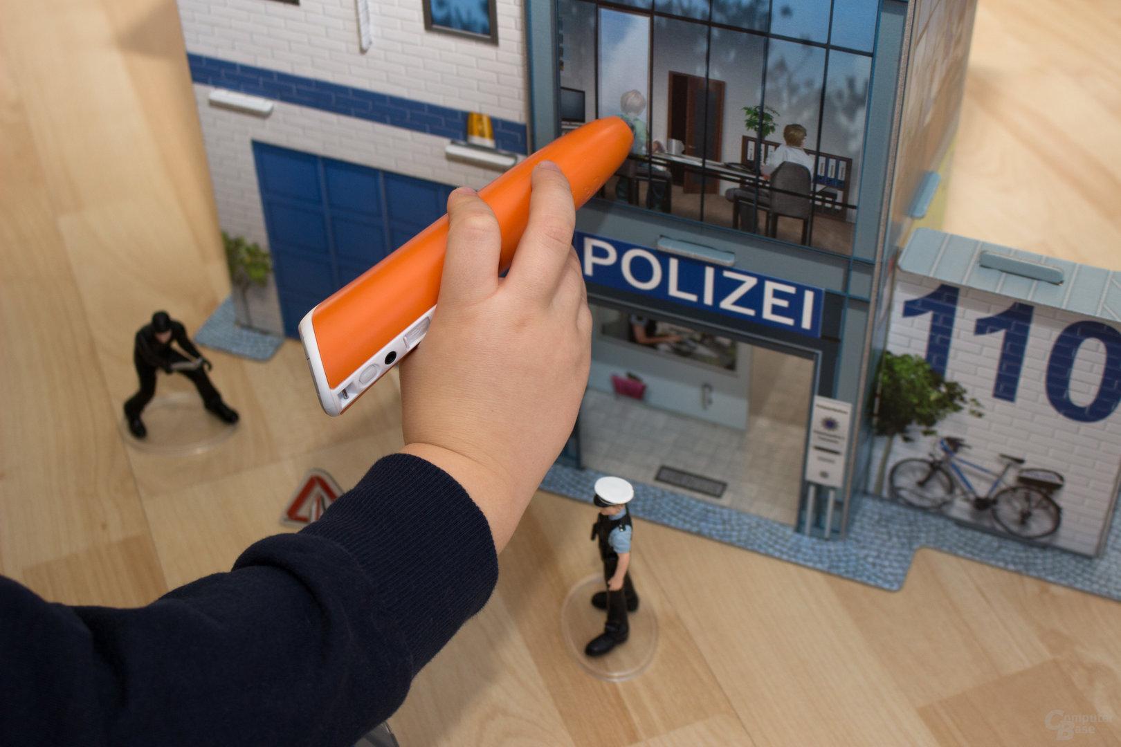 Die Spielwelt Polizei bietet viel Wissen auf knappen Raum