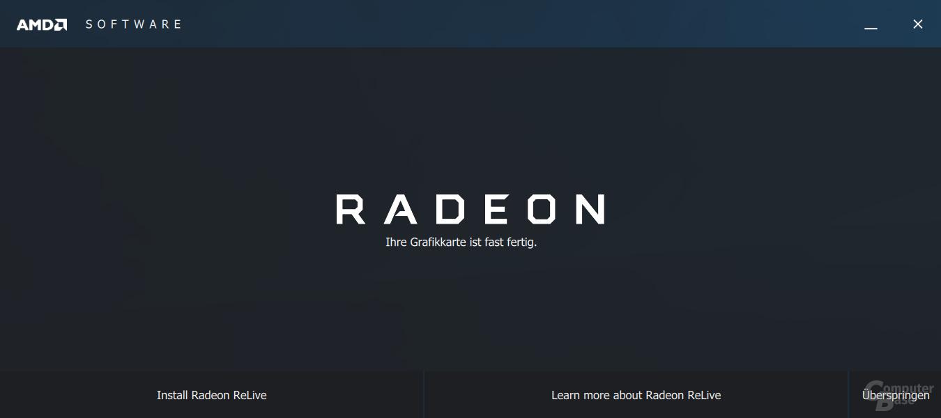 AMD Crimson ReLive – der neue Installer
