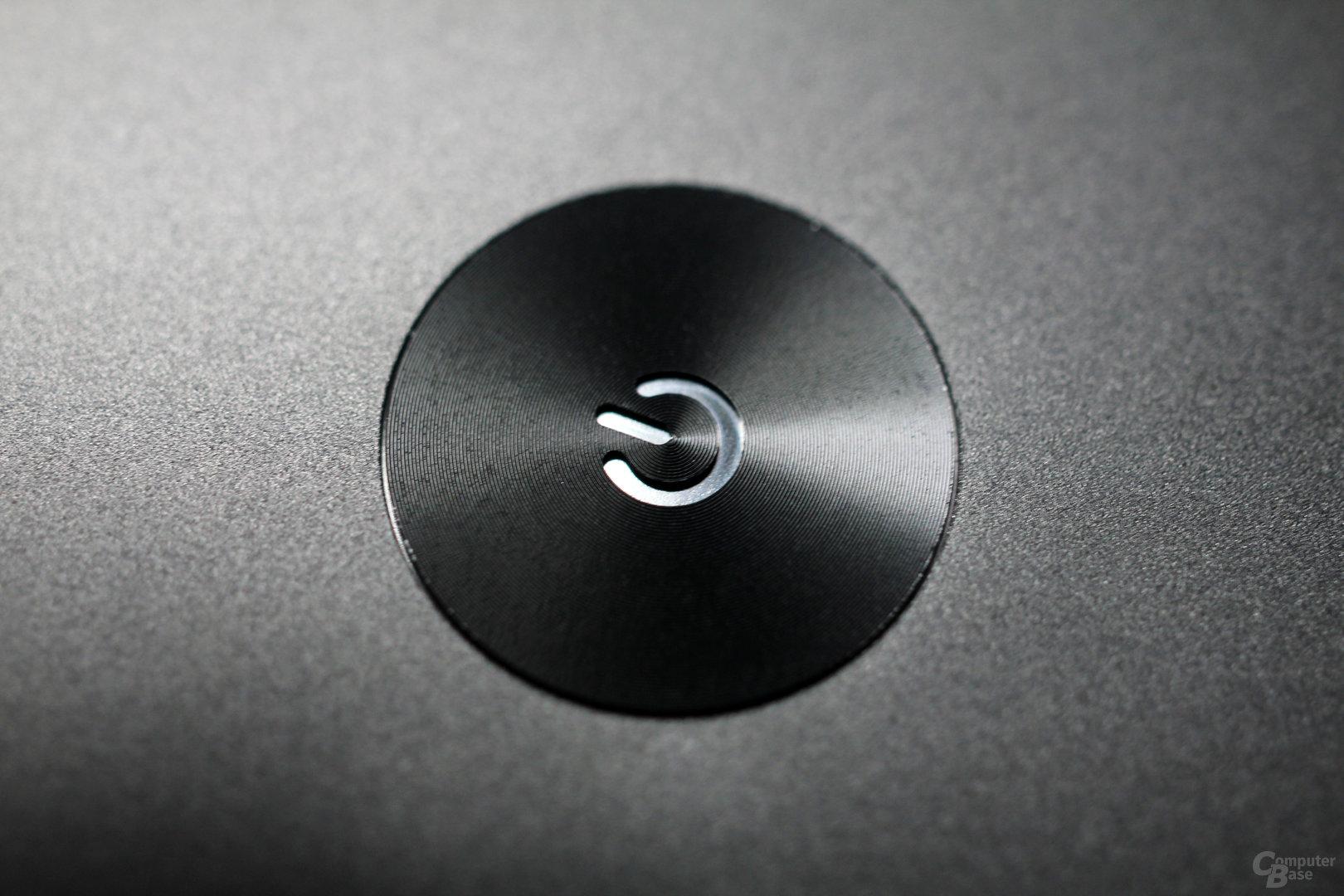 Powerknopf des Razer Blade Pro