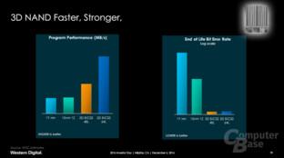 3D-NAND schneller und weniger fehleranfällig ...