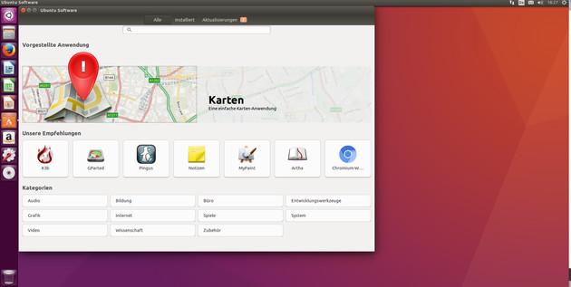 Ubuntu Software
