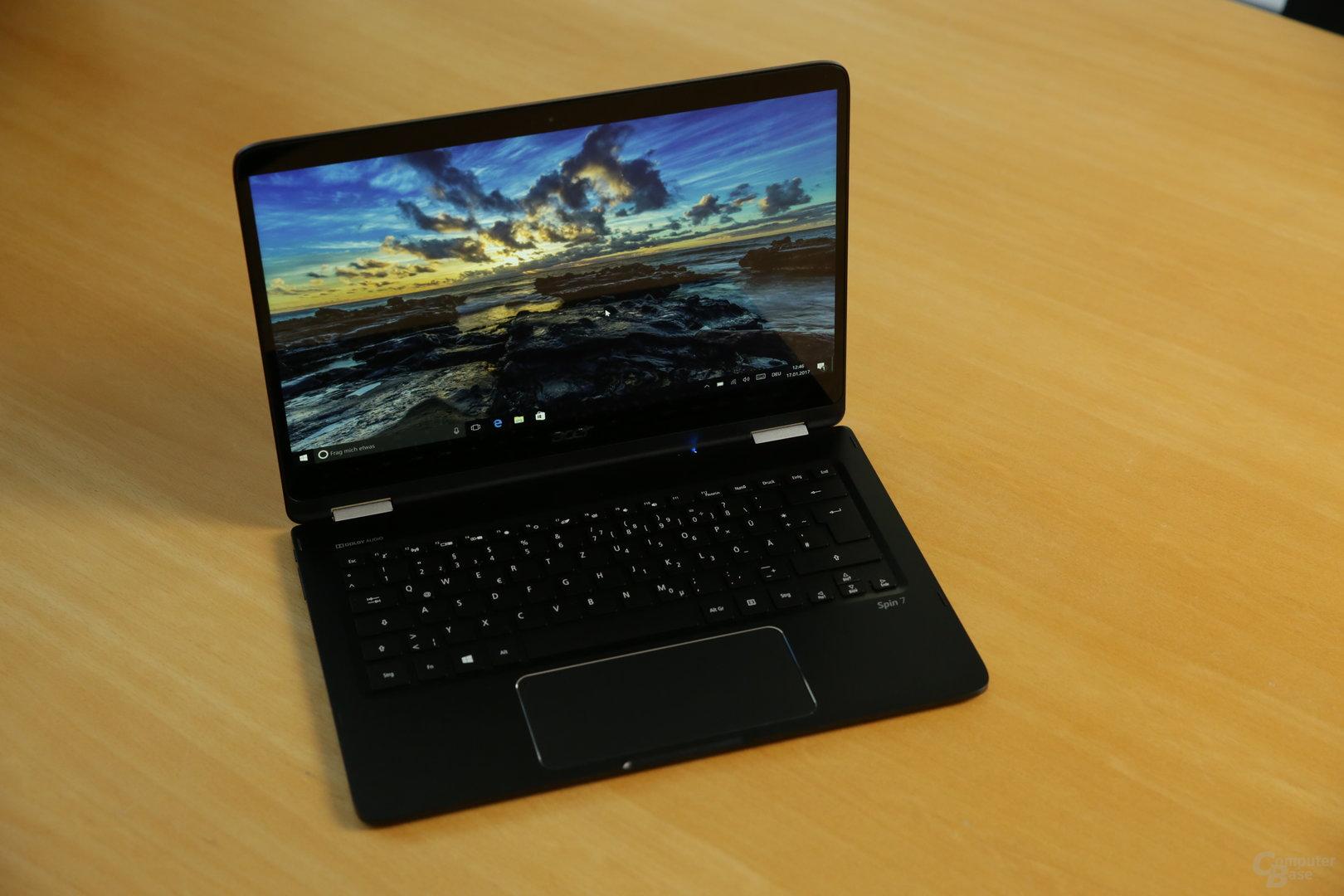Das Acer Spin 7 mit Core i7-7Y75 im Test