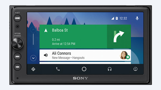 Sony XAV-AX100 mit Android Auto