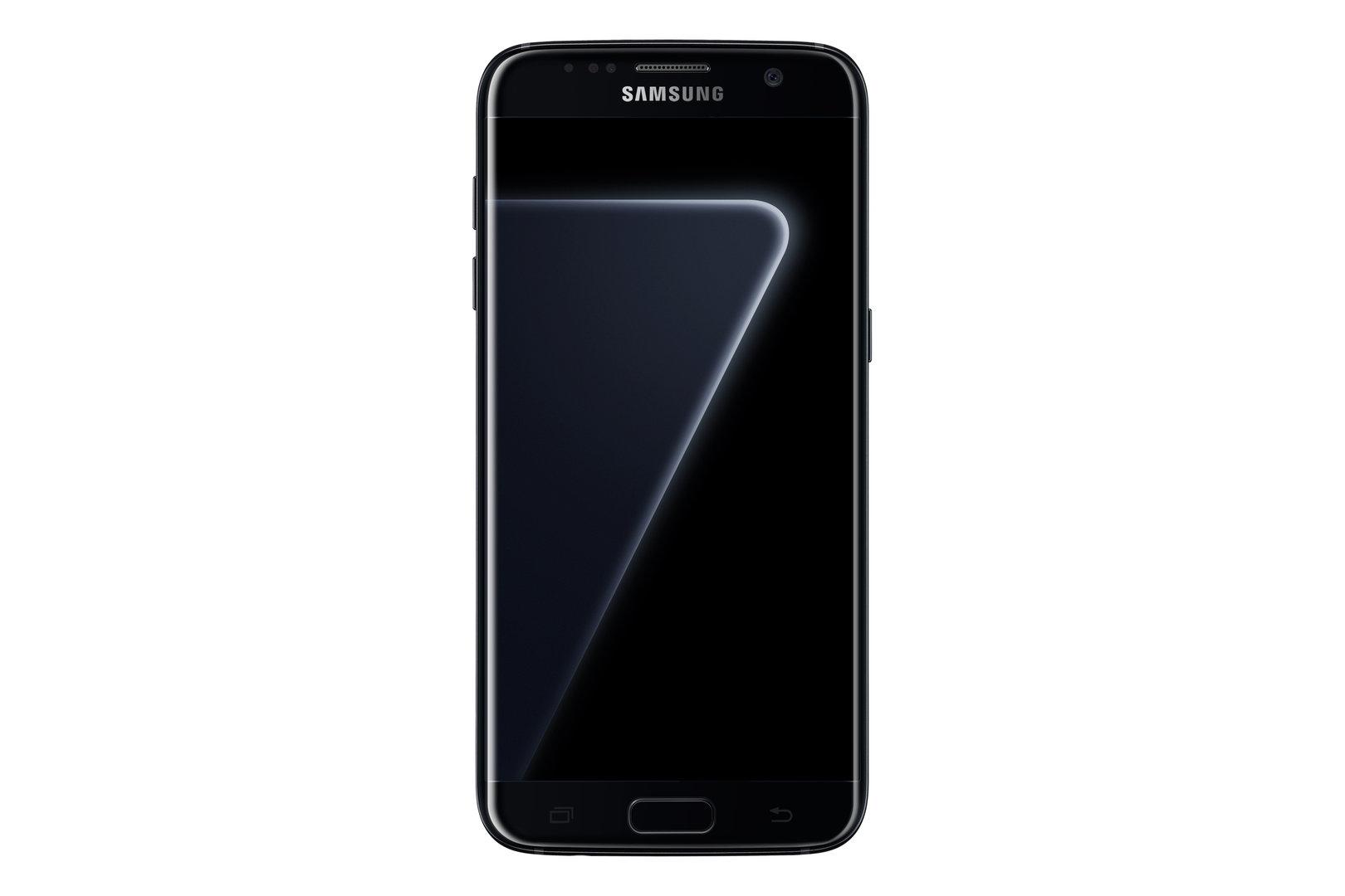 Galaxy S7 edge in Black Pearl