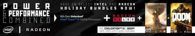 Spiele-Bundle mit Hardware von AMD und Intel