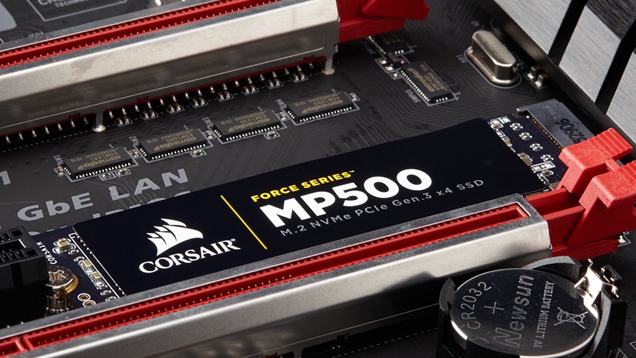 Force MP500 Series: Corsair meldet sich mit High-End-SSD zurück