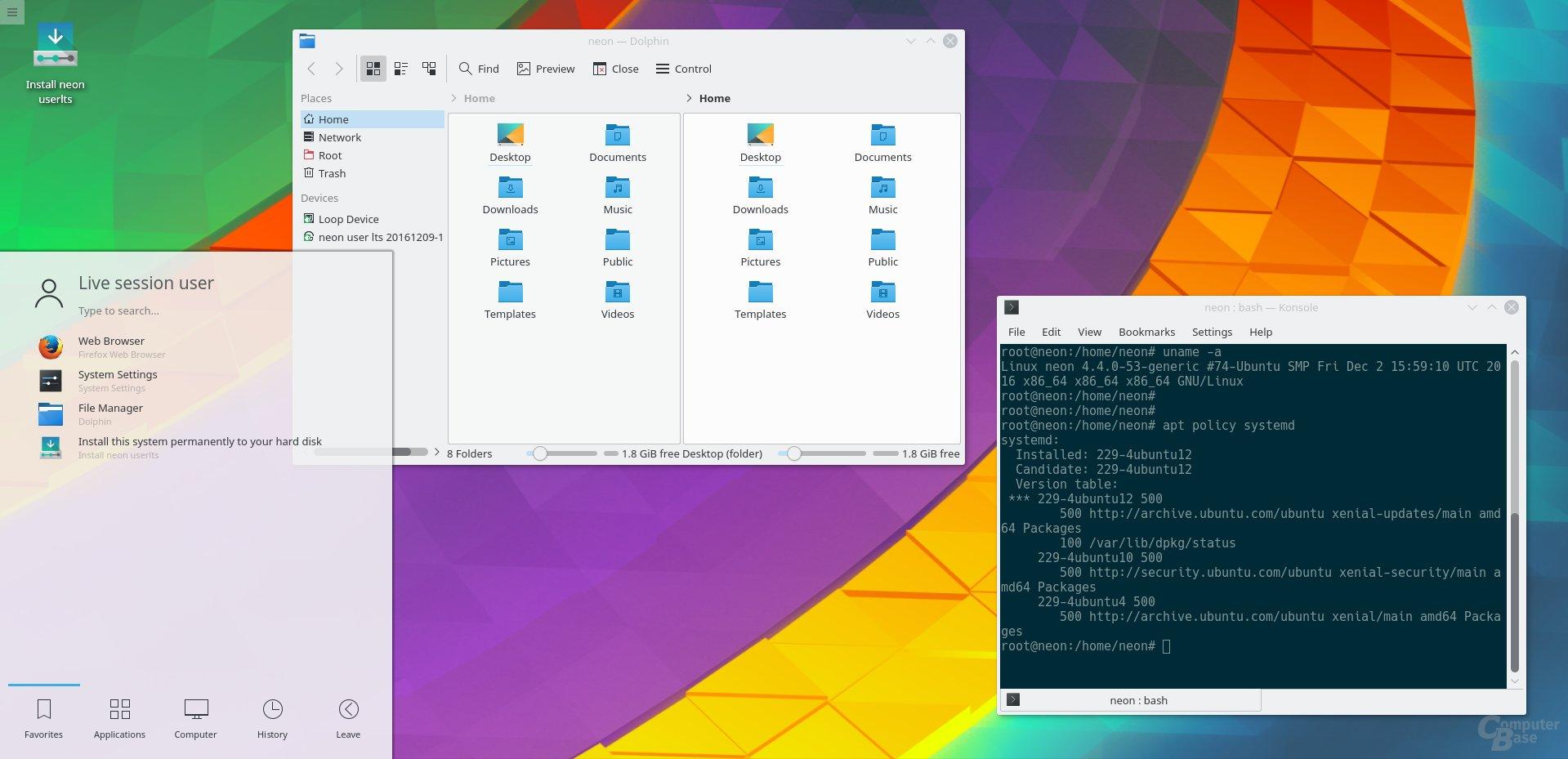 Neon User-Edition LTS
