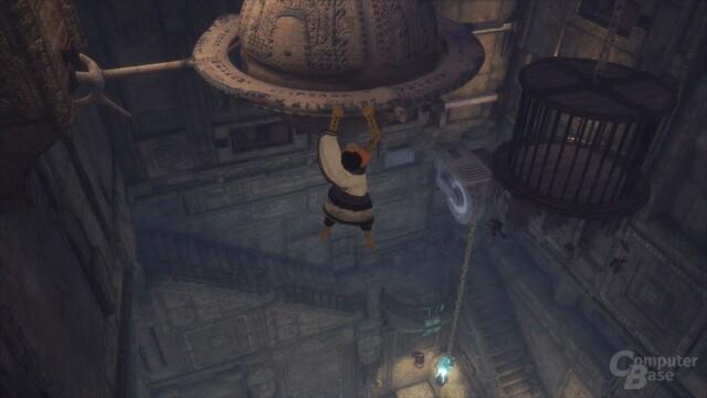 Klassische Kletterpassagen gehören zum Spielalltag (PlayStation 4)