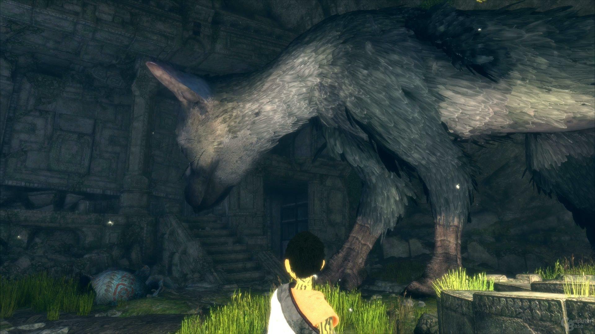 Das Tier schaut sich die Gegend auch selbst genauer an (PlayStation 4)
