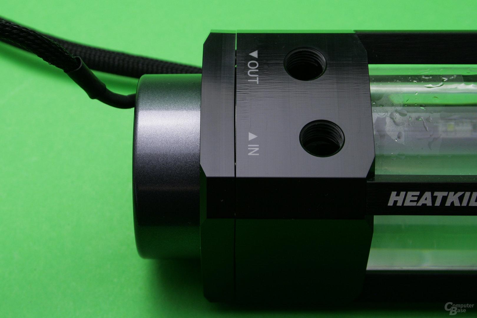 VPP755 mit Heatkiller Tube: Spalt zwischen Rahmen und Pumpendeckel