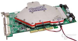 Gainward - wassergekühlte GeForce FX 6800 Ultra