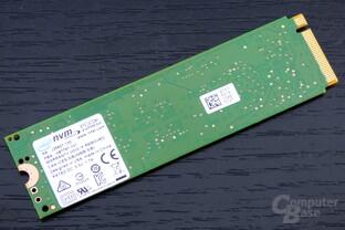 Intel SSD 600p: Die Rückseite ist nicht bestückt