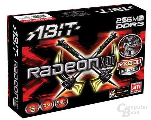 Verpackung der neuen Abit X800 Pro